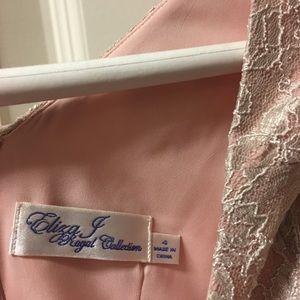 Eliza J Regal Collection Long Sleeve Dress